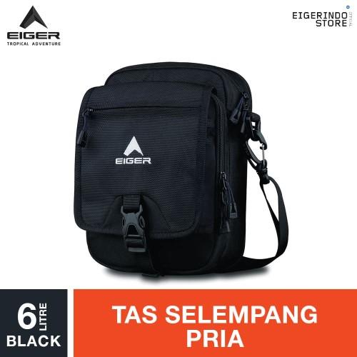Foto Produk Eiger Expend Botol Air Shoulder Bag 6L - Black dari Eigerindo Store