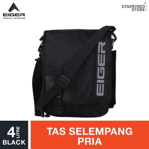 Foto Produk Eiger Logo Eiger Travel Pouch 4L - Black dari Eigerindo Store
