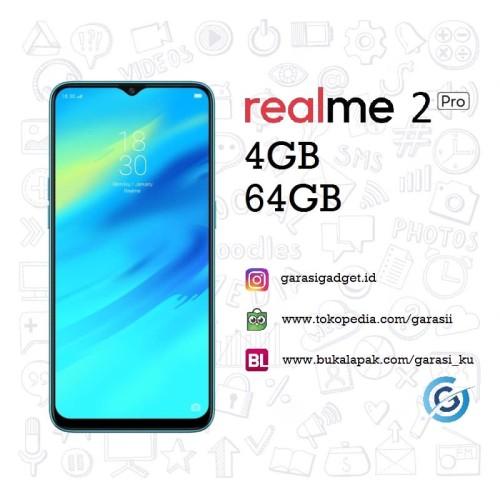 Foto Produk Oppo Realme 2 Pro 4GB 64GB Garansi Resmi - Black Sea dari Garasi.ku