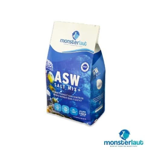 Foto Produk Monsterlaut ASW Salt Mix + | Sea Salt | Garam Laut dari Java Reef