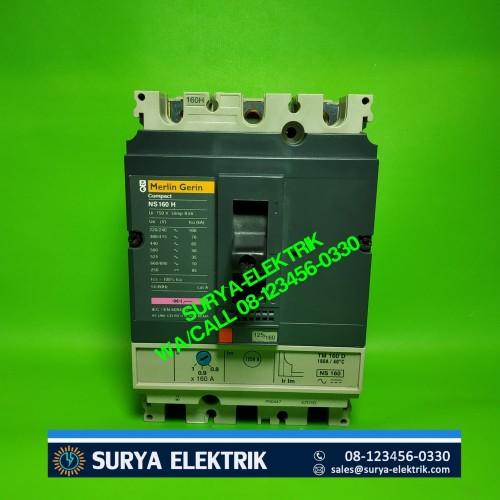 Foto Produk Merlin Gerin Compact MCCB MG NS250N 3P 250A 250 A TM250D NS 250N 50KA dari SURYA-ELEKTRIK