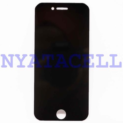 Foto Produk Tempered Glass Spy Iphone 6 6G 6S Anti Gores Kaca Privacy Gelap Screen dari NYATACELL