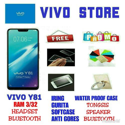 Foto Produk VIVO Y81 RAM 3/32 GARANSI RESMI VIVO INDONESIA 1TH - Hitam dari VIVO ST0RE