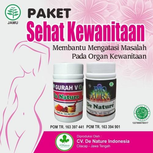 Foto Produk Paket Obat Kewanitaan Dan Keputihan Herbal De Nature dari Pusat De Nature Herbal