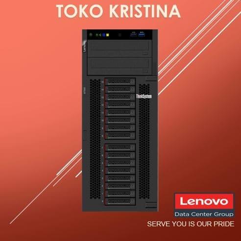 Foto Produk Lenovo Thinksystem ST550 - 2P, Tower or 4U Rack, 3YRS 7X10A024SG dari tokokristina