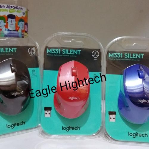 Foto Produk Mouse Wireless Logitech M331 M 331 Silent Plus. Replace Logitech M280 dari Workhard Online Shop