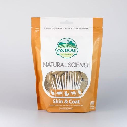 Foto Produk Oxbow Natural Science Skin and Coat 60ct Vitamin - EXP 2022-09 dari Hime petshop