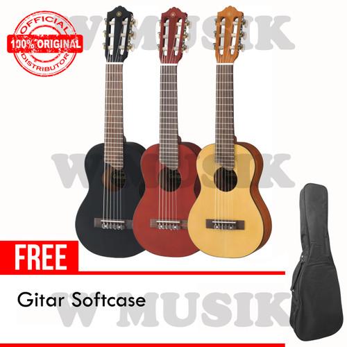 Foto Produk Yamaha Gitar Mini GL-1 / GL1 / Guitalele (Tersedia 3 Warna) + Softcase - Black dari W Musik