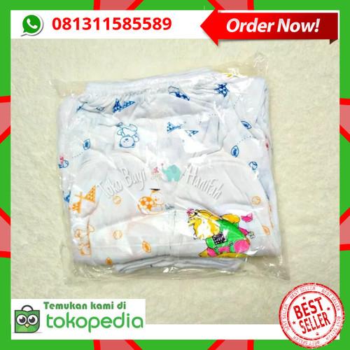 Foto Produk 12 pcs / 1 Lusin Celana Panjang Bayi Tutup Kaki Bayi baru lahir murah dari Toko Bayi Hanifah