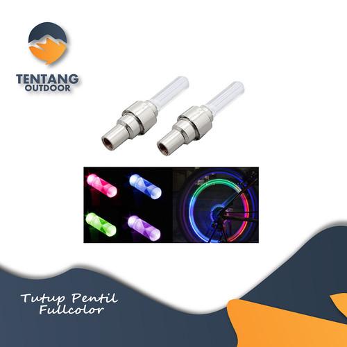 Foto Produk Tutup ban / Pentil LED Warna Warni Sepeda / Motor / Mobil dari TentangOutdoor