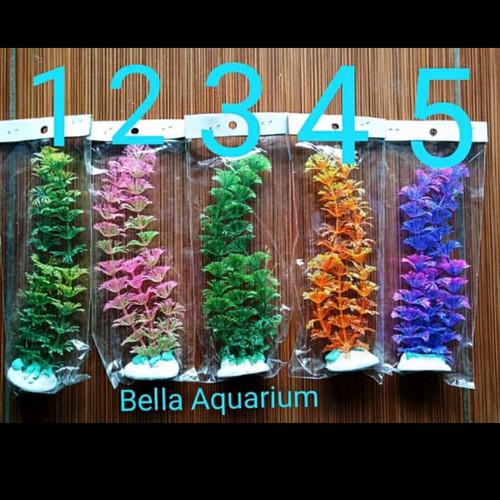 Foto Produk Tanaman Hias Aquarium Sintetis Plastik Murah 15 cm dari Bella And Zona