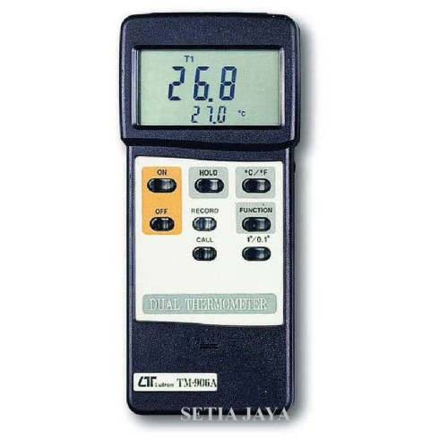 Foto Produk LUTRON TM-906A Thermometer unit meter saja dari Setia Jaya GM
