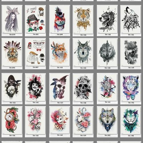 Foto Produk Tato/tatto temporary/tatto temporer/tatto lengan TH 21x15 dari Abadi Foto