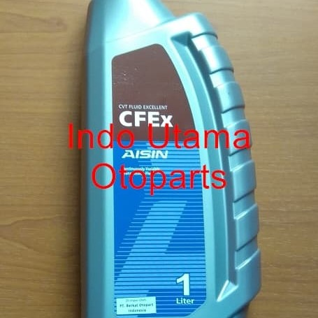 Foto Produk Oli Aisin Transmition CFEx CVTF MULTI 1 Ltr (CVTF001P) dari Indo Utama Otoparts