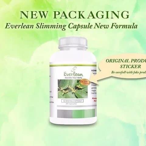 Foto Produk Everlean New Formula / Obat Diet / Obat Pelangsing dari Shoppahollics99