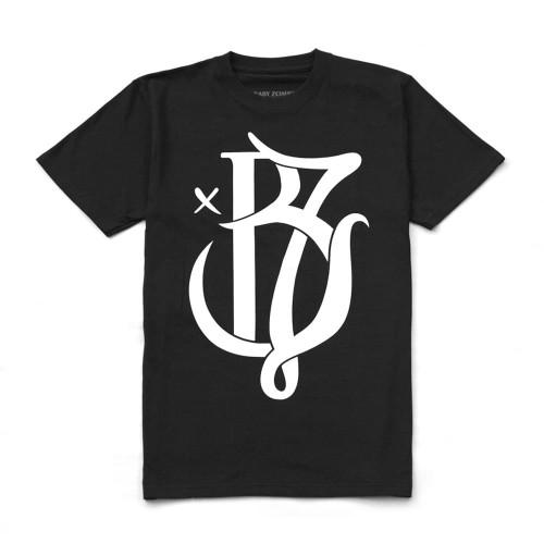 Foto Produk Classic Logo Black Tshirt - M dari Baby Zombie Co.