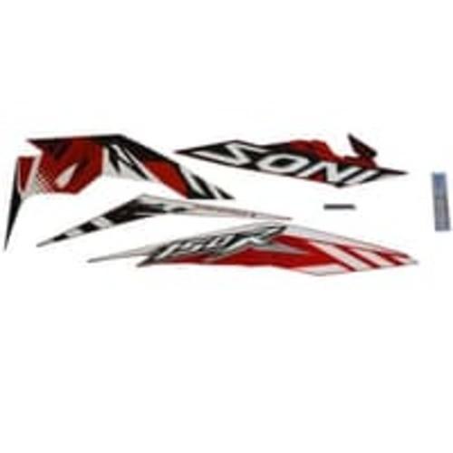 Foto Produk Stripe Set R Red White – Sonic 150R K56 (871X0K56N50ZBR) dari Honda Cengkareng