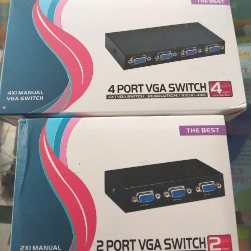 Foto Produk VGA Switcher 2 port switch vga 2port dari Oktha Store