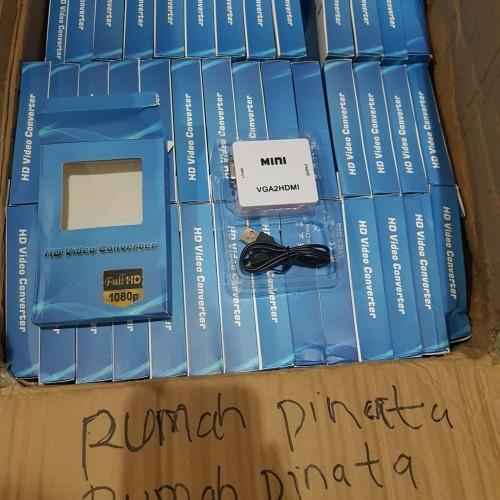 Foto Produk Vga to Hdmi Converter /Converter Vga To Hdmi Original dari rumah pinata