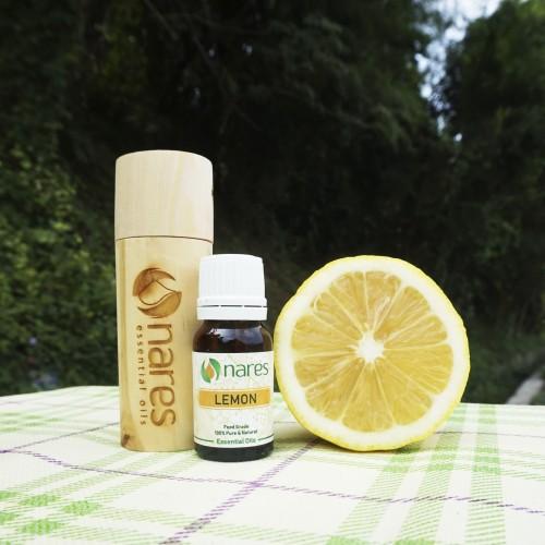 Foto Produk Lemon essential oil - NARES - 10 ml - (detoks & flu) dari NARES Essential Oils