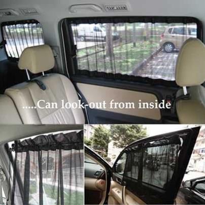 Foto Produk tirai tabir surya untuk kaca jendela mobil gorden korden pelindung dari tarra online shop