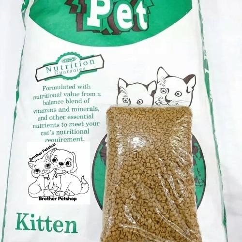 Foto Produk Universal Kitten Repack 1kg - Universal Kitten - Mirip Maxi Cat Tasty dari Brother Petshop