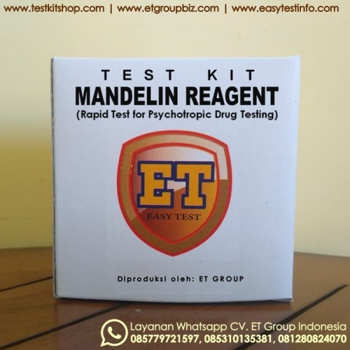 Foto Produk Drug Testkit - Mandelin Reagent - Test Kit Obat - Teskit unt Tes Cepat dari Digiku O Shop