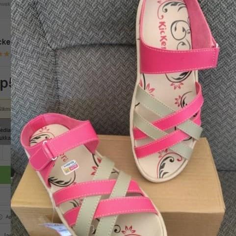 Foto Produk Kickers Cewek Flat Shoes Sendal Selop Sandal Slop Wanita Terbaru dari Divha Store