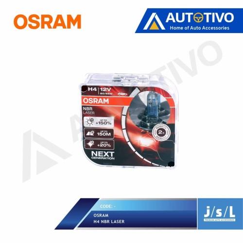 Foto Produk Osram NBR H4 Laser Next Generation New Packaging dari Autotivo