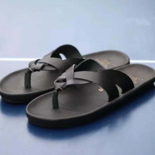 Foto Produk Sandal Pria Kulit Trendy dari Divha Store