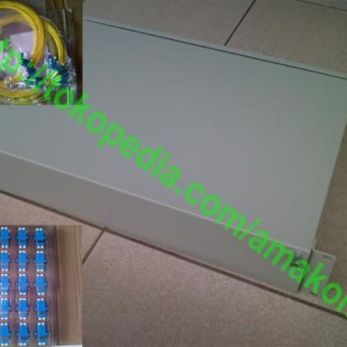 Foto Produk OTB Rack 48 Core LC Lengkap dari AMAKOM MEDIA KOMUNIKA
