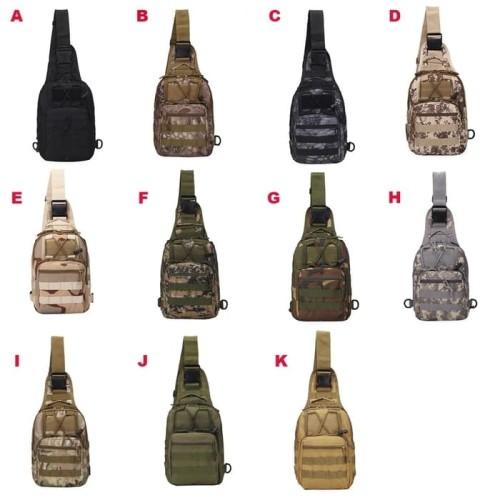 Foto Produk Tas Selempang Slempang Cowok Pria Army tactical sling waist tote Bag dari Babyliss Master