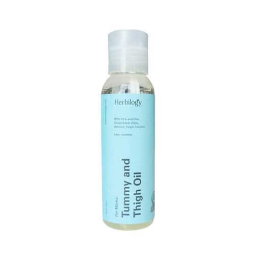 Foto Produk Herbilogy Tummy and Thigh Oil For Stretch Marks 100 ml dari Jagapati