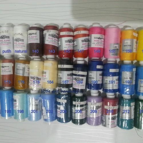 Foto Produk Benang jahit Rope brand 40/2 spun polyester 500y merk tambang grosir dari Little Ant