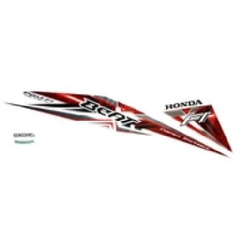 Foto Produk Sticker Body Kiri White Red – BeAT Sporty eSP 871X0K25630ZBL dari Honda Cengkareng