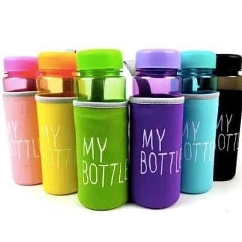 Foto Produk NEW WARNA my bottle/infused water/botol minum bahan plastik tritan dari KAINUO
