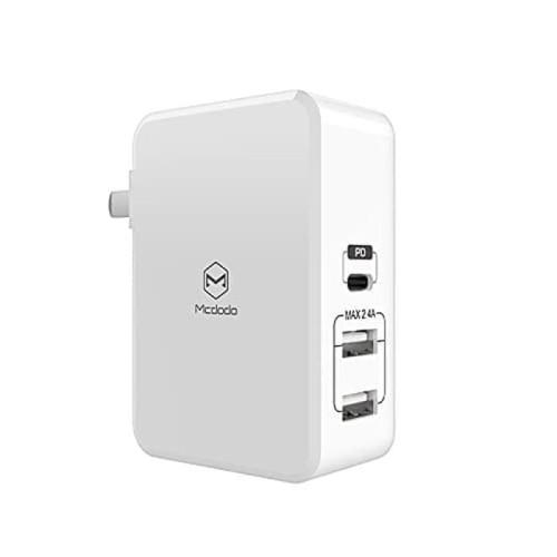Foto Produk Mcdodo Ultra Fast 41W USB-A&USB-C Type-C (3 Ports) iPhone Xs/Xr/Xs Max dari Spigen Indonesia