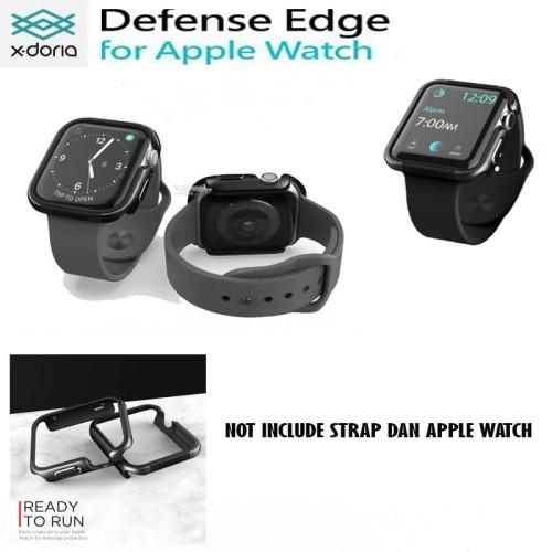 Foto Produk X-doria Apple Watch 4 (44 MM) Defense Edge Case Xdoria - Black Bumper dari Spigen Indonesia