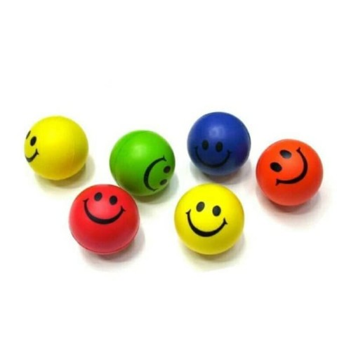 Foto Produk ANTI STRESS BALL SQUISHY BALL BOLA BUSA BOLA SMILE BOLA GENGGAM dari MAXSHOP-ONLINE