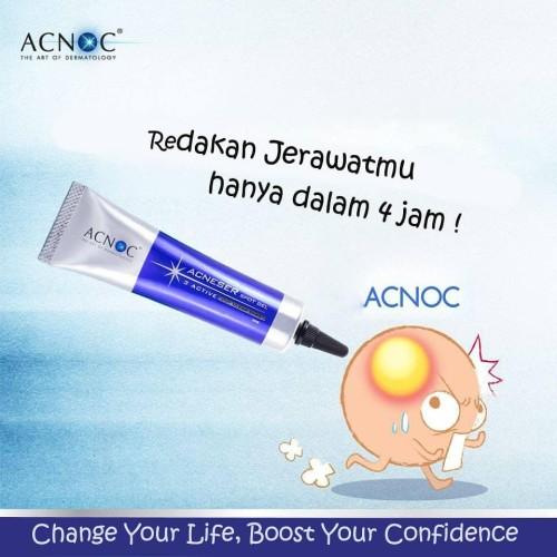 Foto Produk Jerawat reda dlm 4 jam saja! ACNOC Acneser Spot Gel 15g dari LA Girl Indonesia