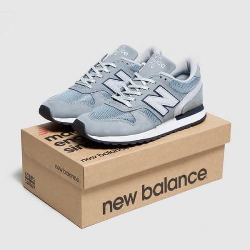 Sepatu Sneakers New Balance 770 Made In Uk 35th-grey