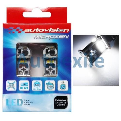 Foto Produk Autovision Microzen LED T10 T15 T16 10-3020SMD 550Lm Putih Lampu Mobil dari Autoexile