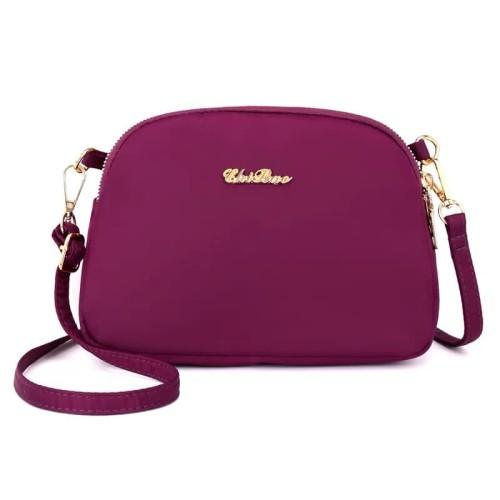 Foto Produk Tas Wanita Import Jinjing dan Selempang CHIBAO Mini CB601 601 - Purple dari maju laku