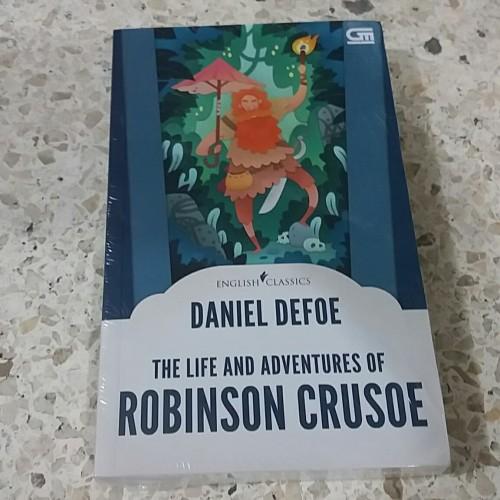 Foto Produk Novel English Classics: The Life and Adventures of Robinson Crusoe dari Pusat Komik