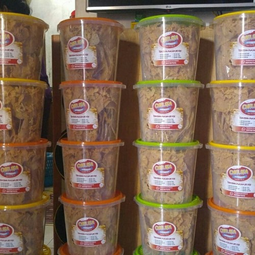 Foto Produk aneka peyek teri/kacang/rebon/cabe - Peyek Kacang dari toko cemilan rafiqi