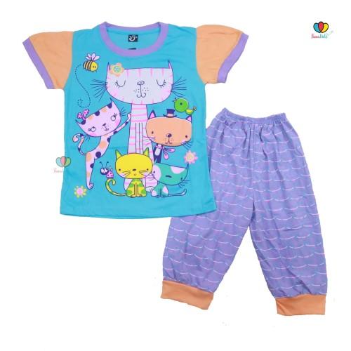 Foto Produk Setelan Momo Kids Size 7-10 Tahun / EXPORT Quality Baju Karakter Kaos - SERI 10 dari Kios Balita Fawa