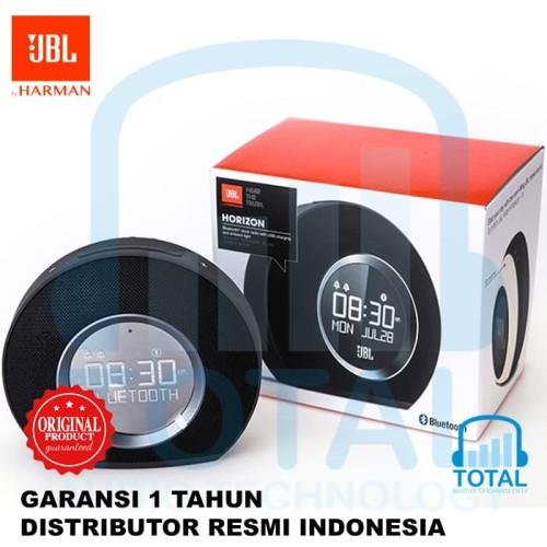 Foto Produk JBL Horizon - Speaker Audio Wireless Bluetooth w/ Clock - Putih dari Pesing Prima Center