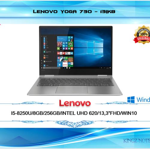 "Foto Produk LENOVO YOGA 730 13IKB I5-8250U 8GB 256GB INTEL UHD 620 13,3""FHD W10 dari Kingz Notebook"