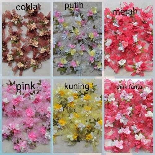 Foto Produk Pita bunga diameter 3 cm kode 9010 dari in's ol shop