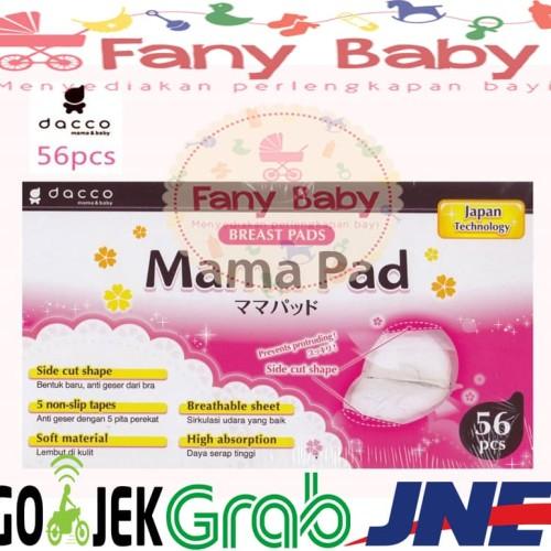 Foto Produk Breastpad Dacco Mamapad isi 56 dari Fany Baby ITC Kuningan